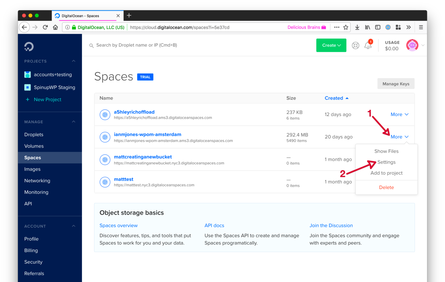 How to Set Up a Custom Domain for DigitalOcean Spaces with